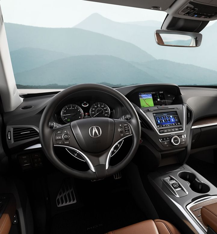 Acura MDX Interior Amenities