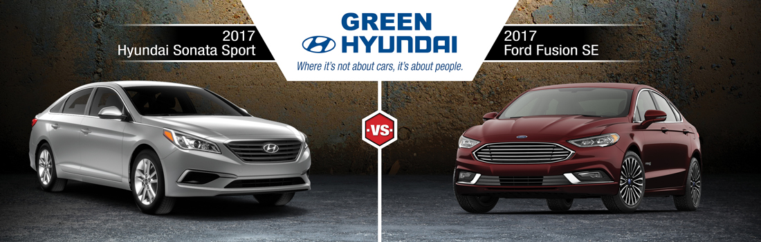 Wonderful 2017 Hyundai Sonata Vs. 2017 Ford Fusion For Springfield, IL Drivers