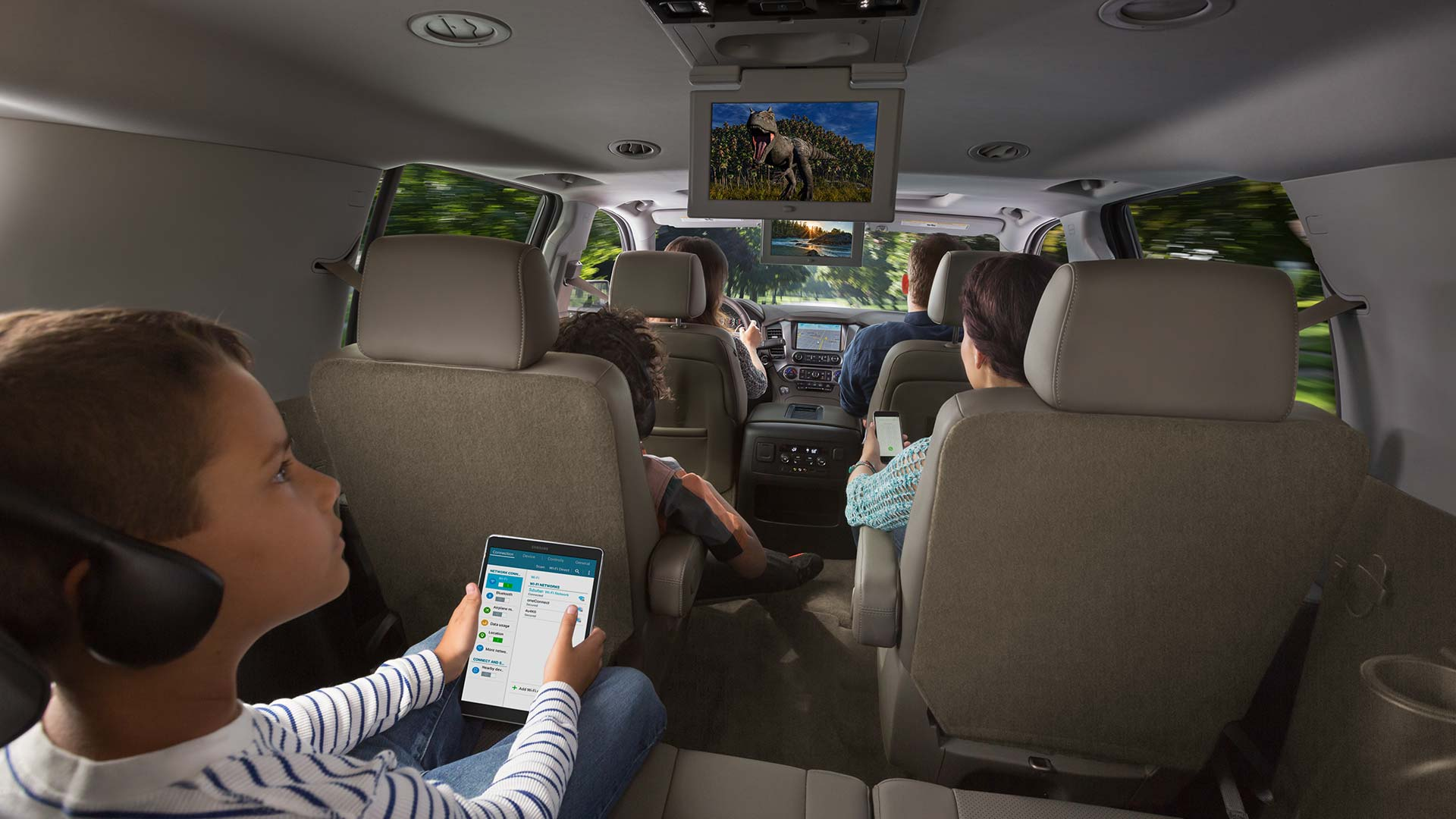 The 2017 Suburban is Perfect for the Whole Family!
