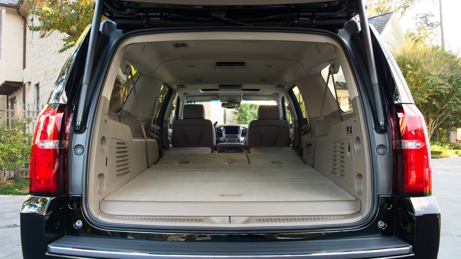 The Chevy Suburban Provides a Cavernous Cargo Space!