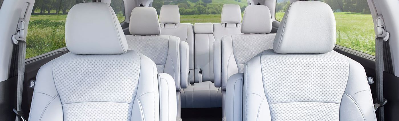 Three-row Seating in the 2017 Honda Pilot