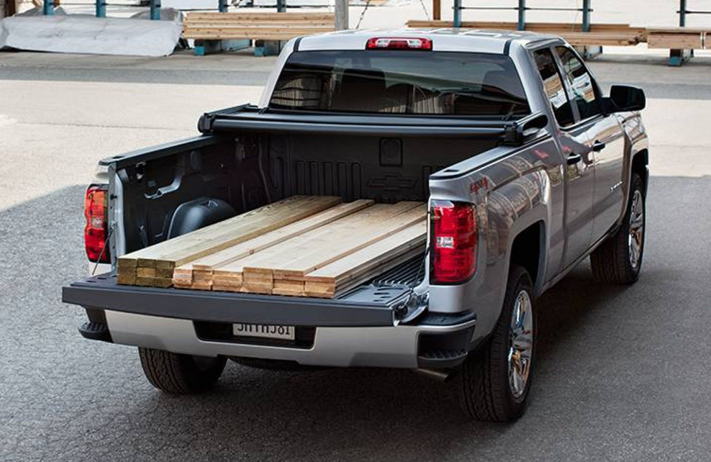 The Bed of the Silverado 1500 is Tough!