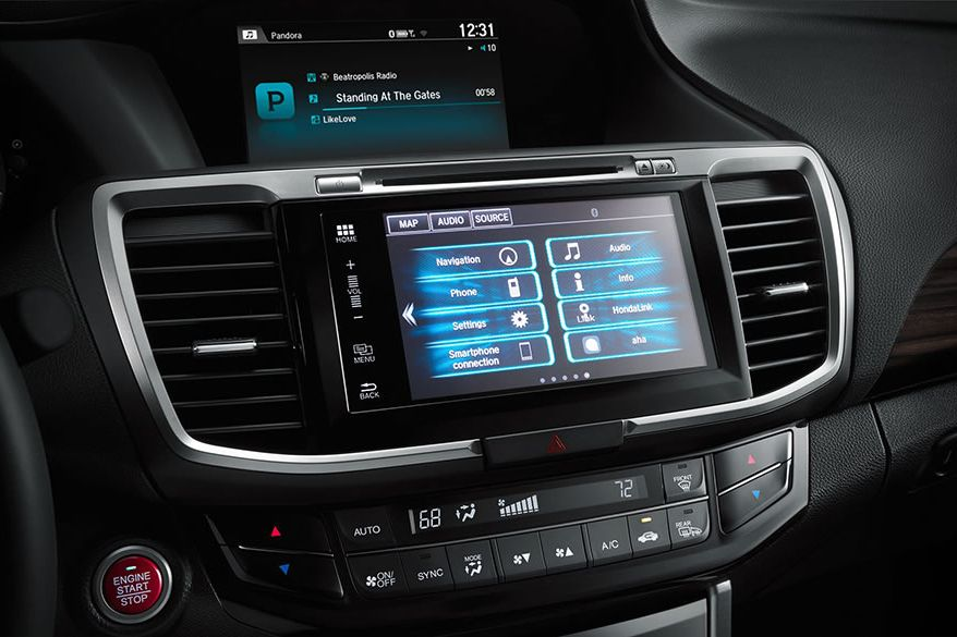 2017 Honda Accord 8-inch Display