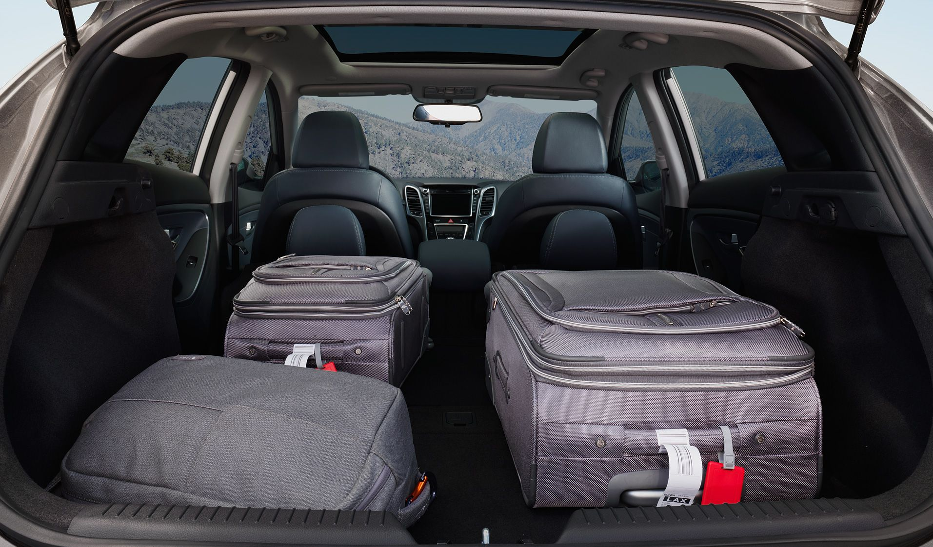 Plenty of Cargo Space in the Elantra GT!