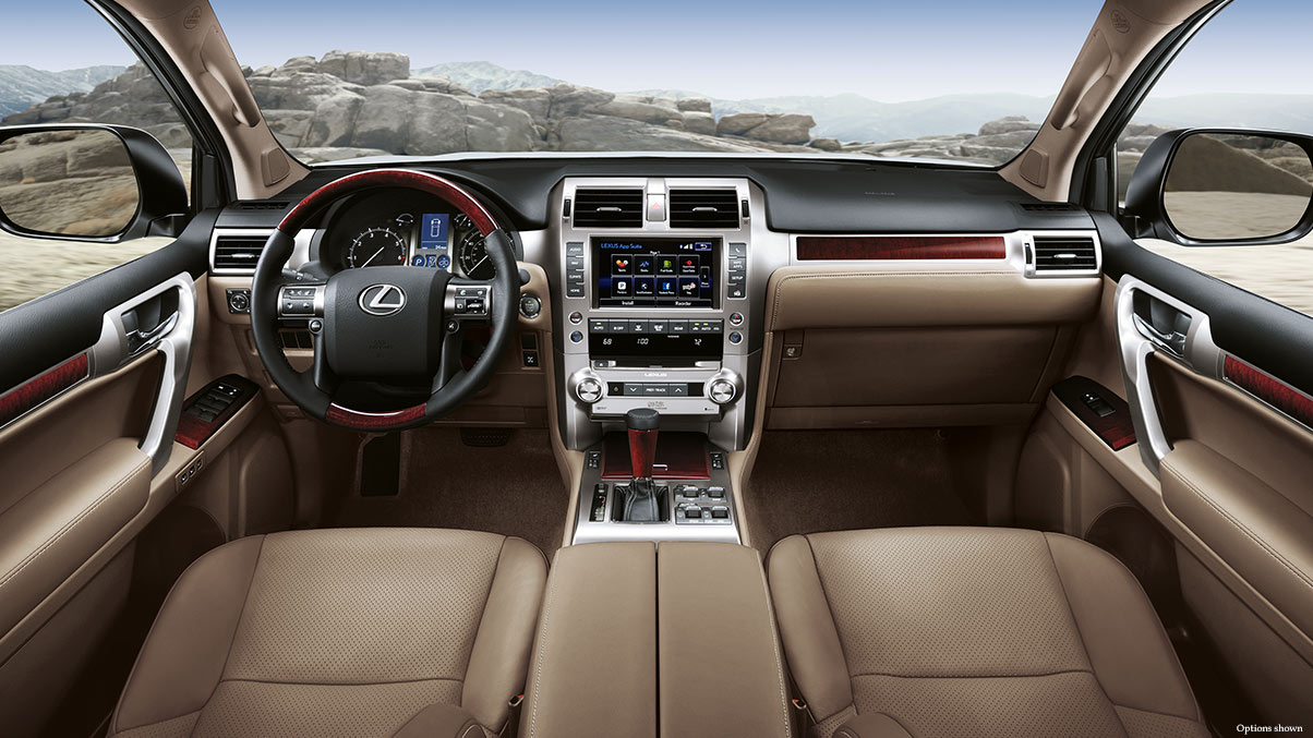 The Well-Equipped Command Center of the GX 460!
