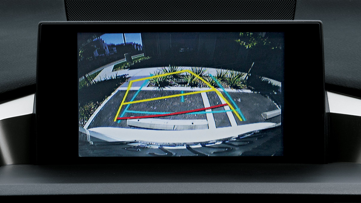 The NX 200t Comes Standard With a Backup Camera!