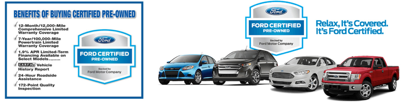 Ford Certified Pre Owned Program
