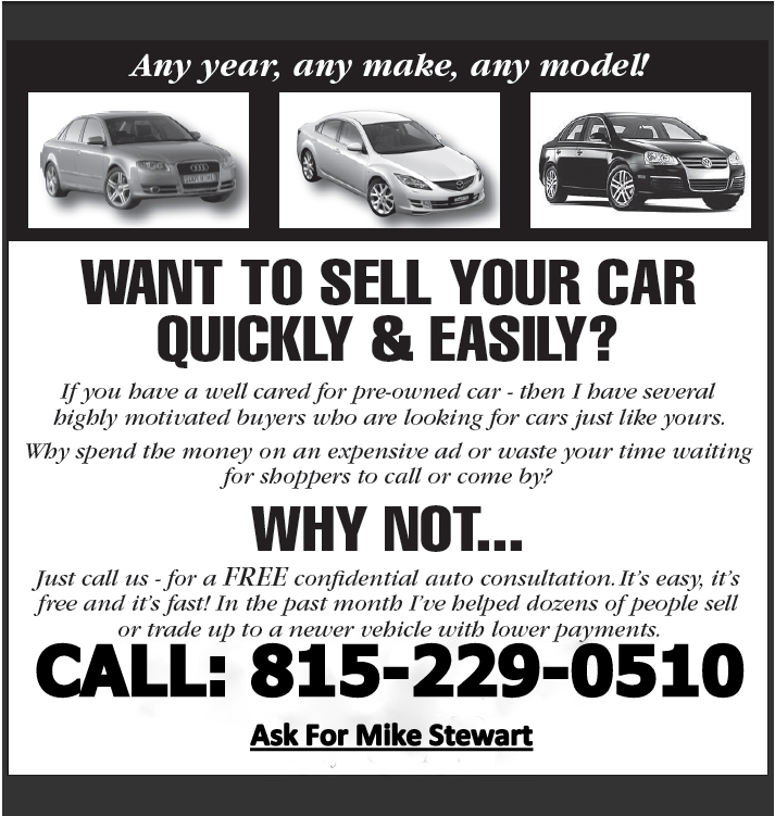 Sell Your Vehicle | Rock River Block | Rockford IL