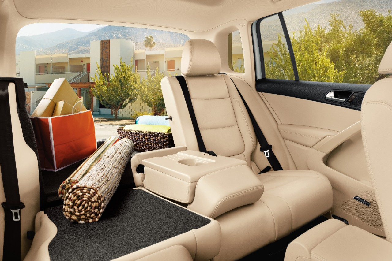 Versatile 40/20/40 Split-Folding Rear Seats!