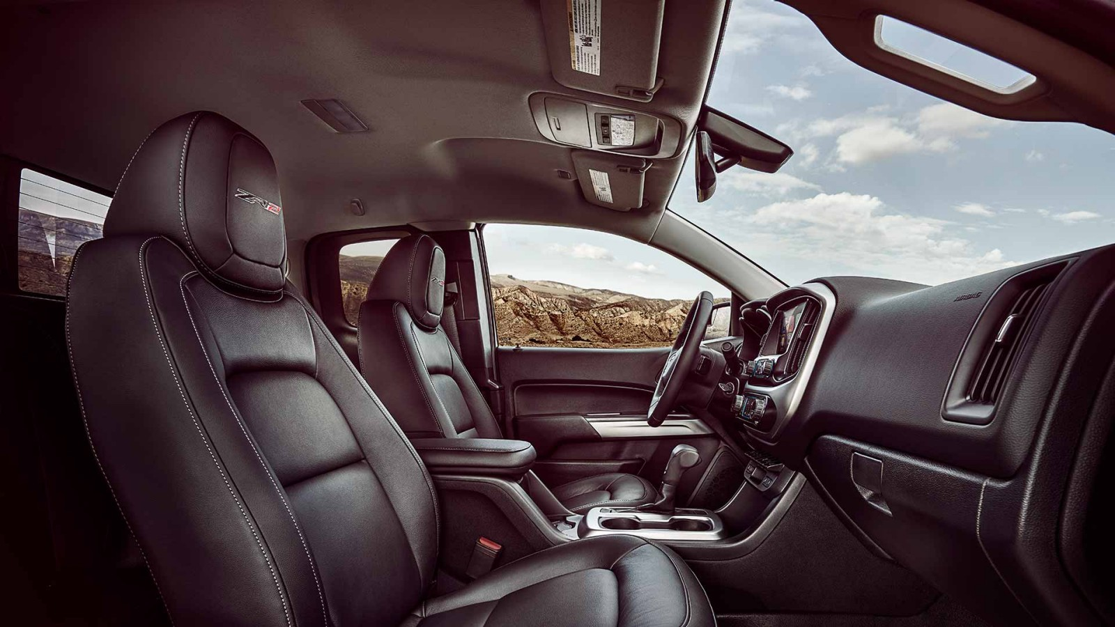2017 Chevrolet Colorado Interior