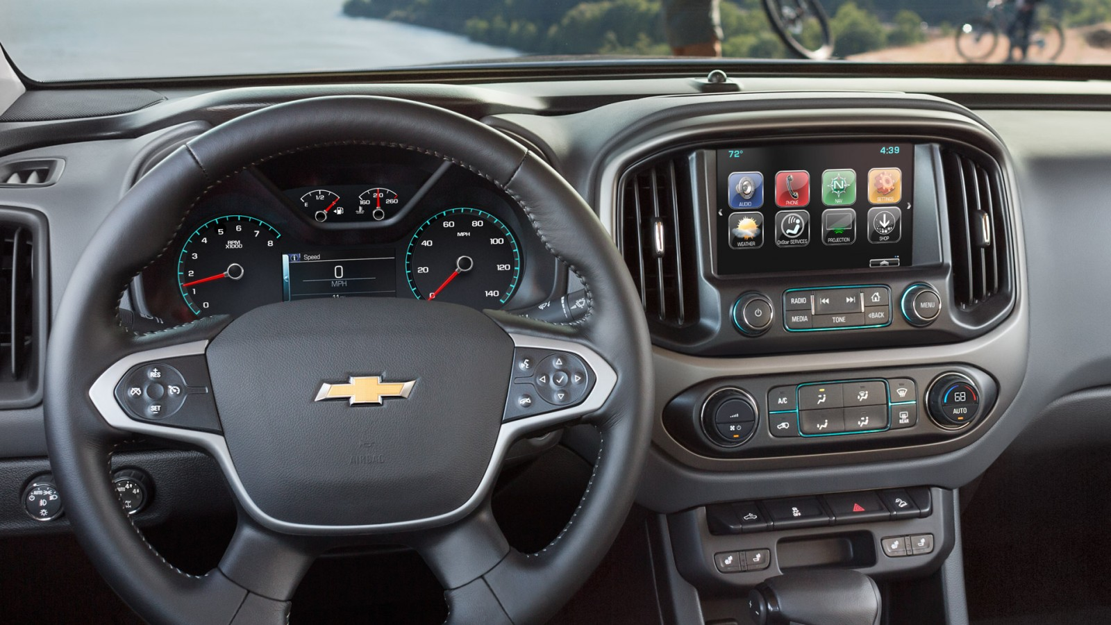 2017 Chevrolet Colorado Touchscreen