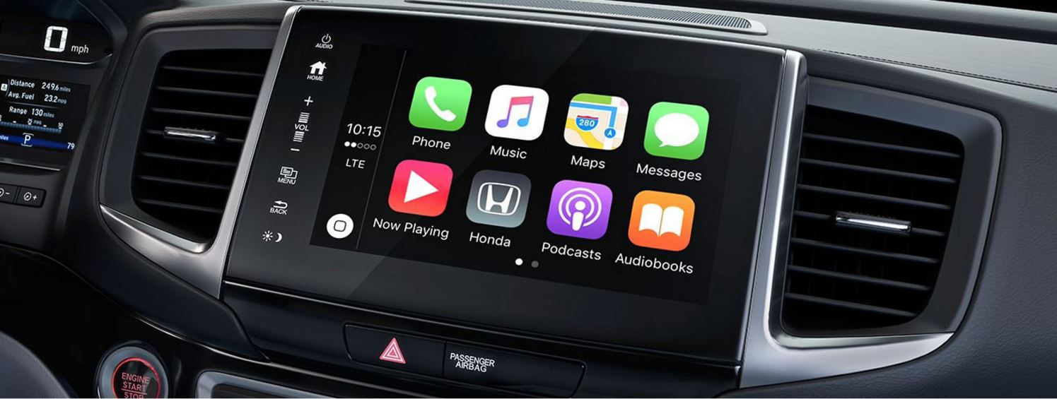 Honda Ridgeline with Apple CarPlay™