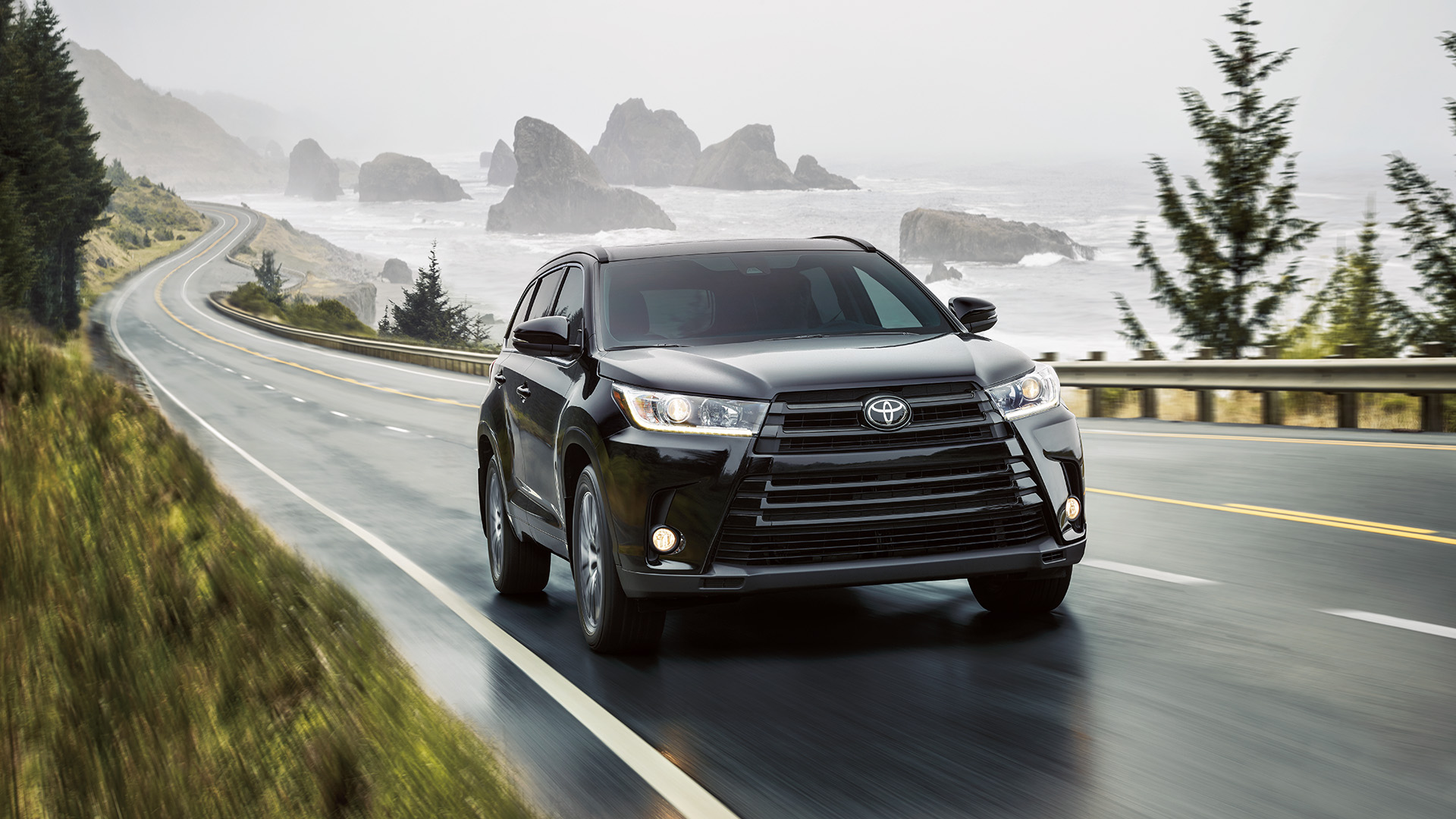 Toyota Highlander Owners Manual: Selecting shift ranges in the s position