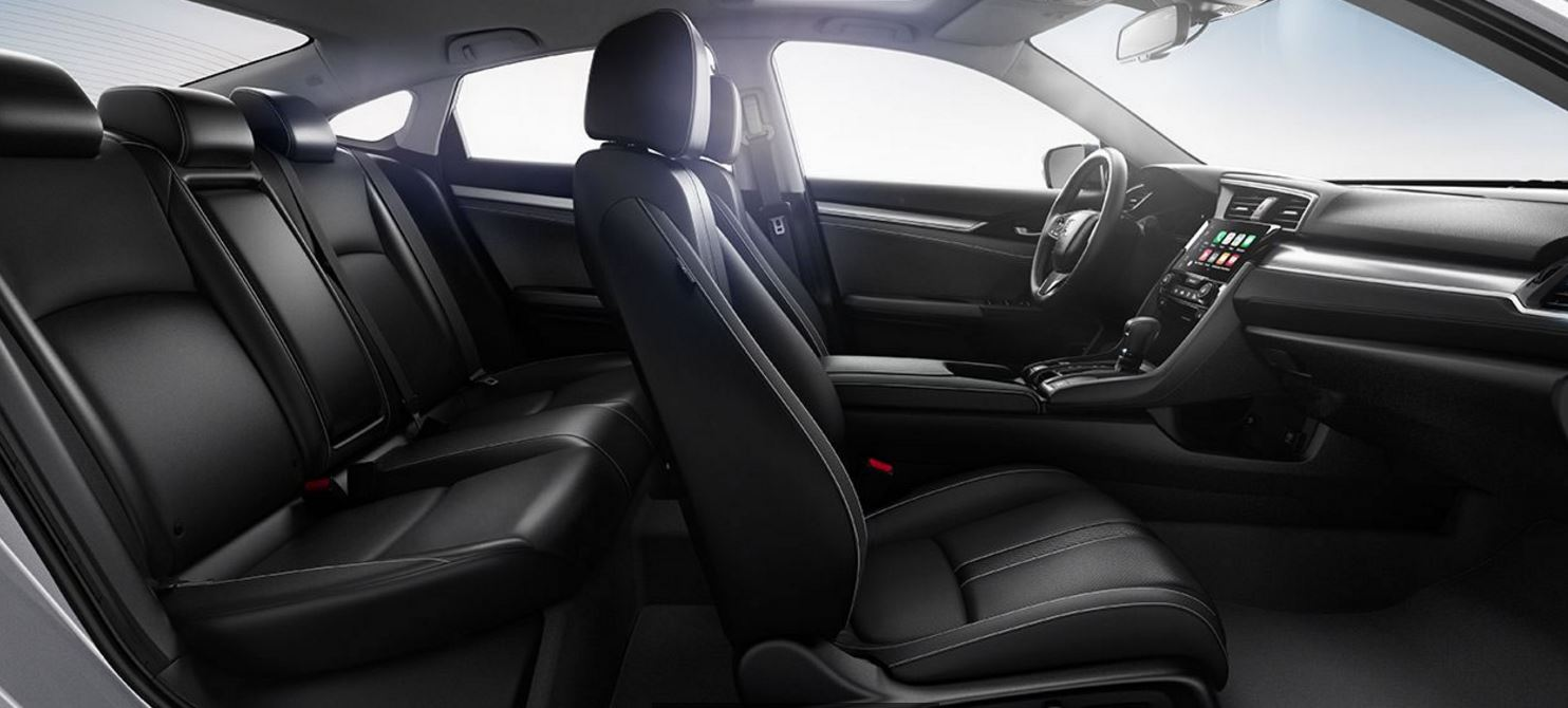 Honda Civic Seating Space