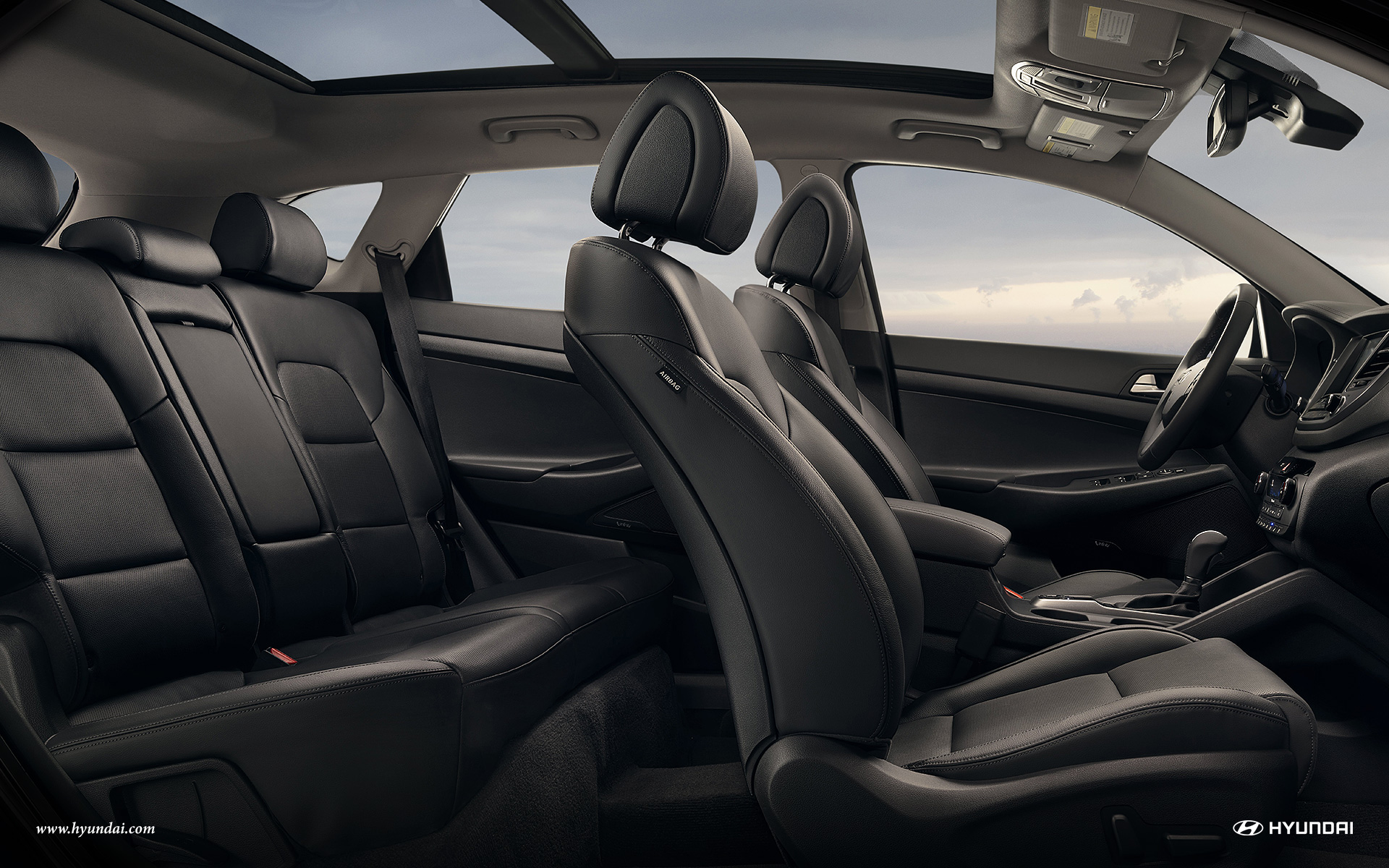 Commodious Cabin of the 2017 Tucson