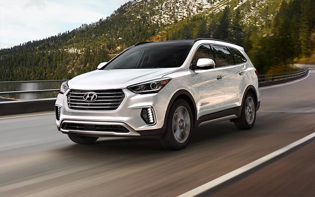 2017 Hyundai Santa Fe for Lease near Washington, DC