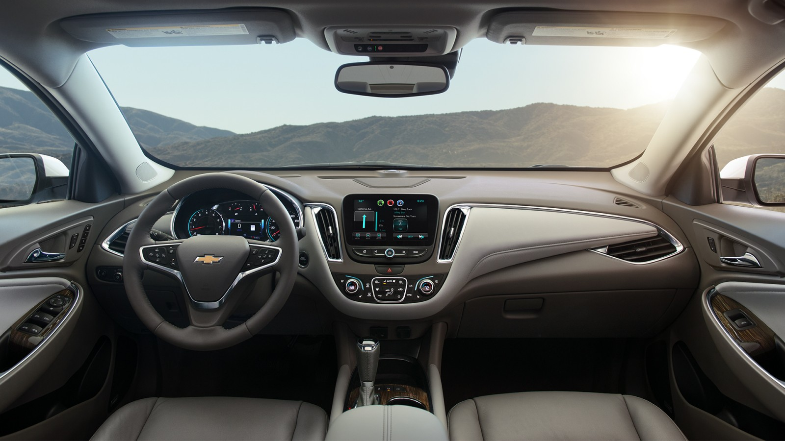 2017 Chevy Malibu Interior