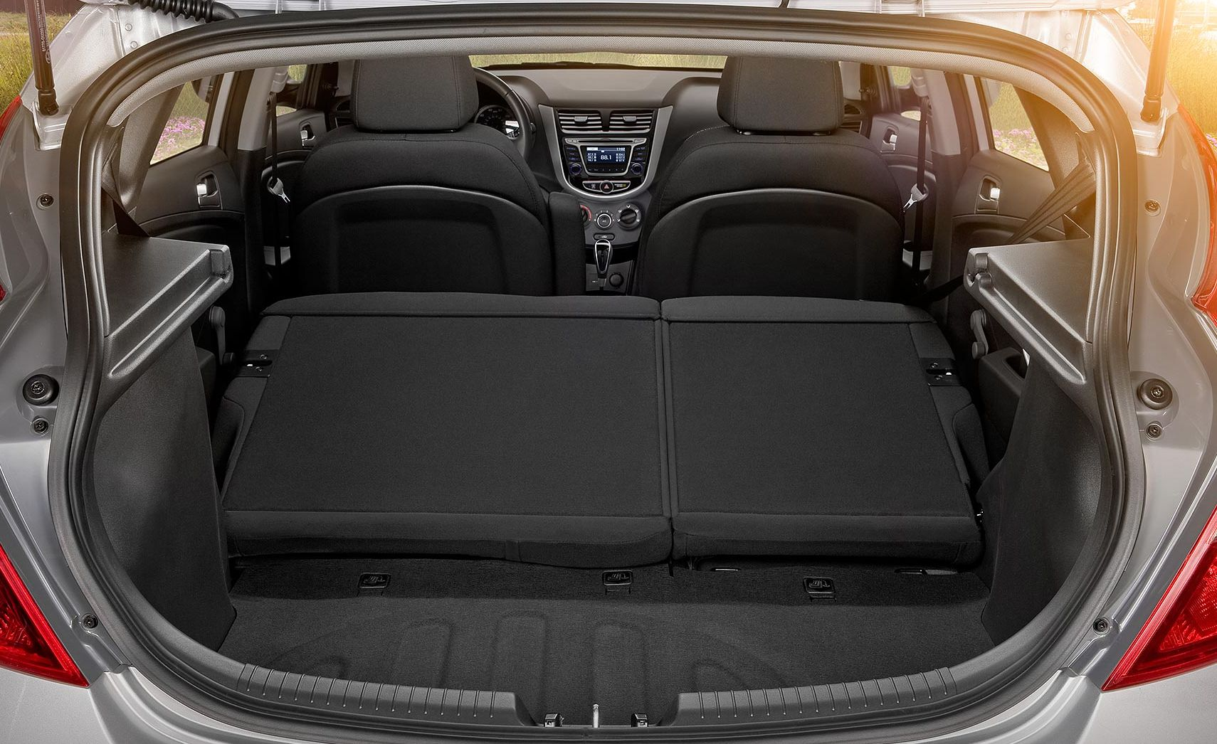 Storage Space in the Hyundai Accent