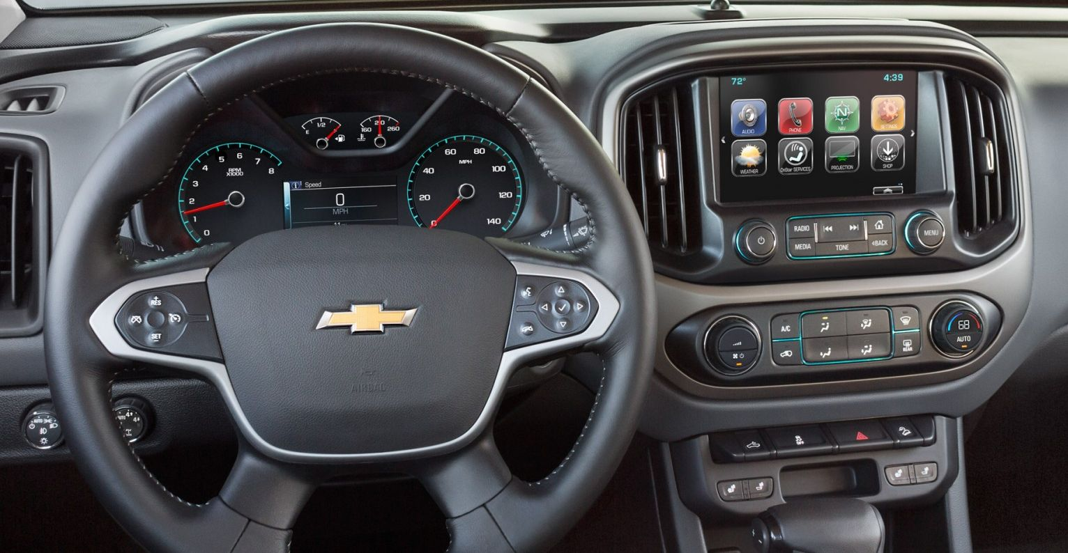 2017 Chevy Colorado Cabin Amenities