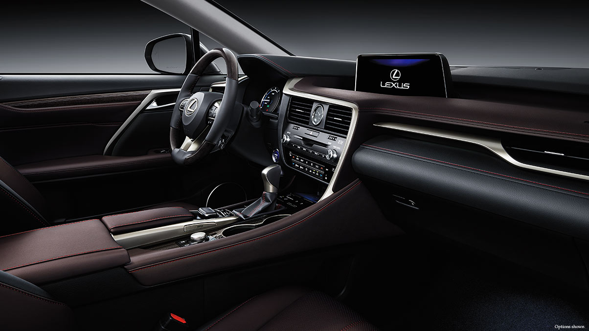 The 2017 RX 350 Has a Chic and Streamlined Interior!