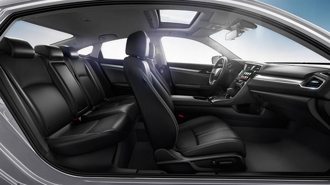 Plenty of Space for Passengers in the Civic!