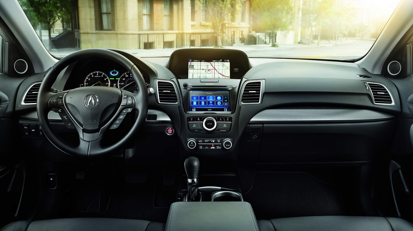 Well-Designed and Luxurious, You'll Love the Cabin of the RDX!