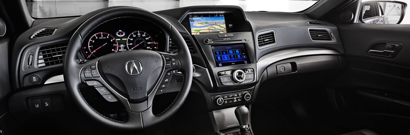 Stylish and High-Tech, You'll Love the 2017 ILX's Cabin!