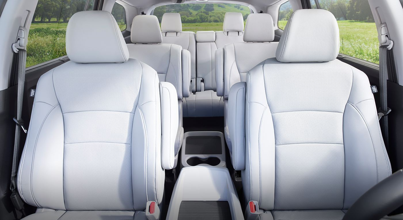 Vehicle Shown Above Left Is The 2017 Honda Pilot With Optional Equipment
