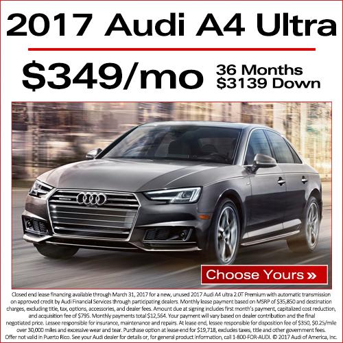 Current Ads Audi North Austin - Audi a4 maintenance schedule