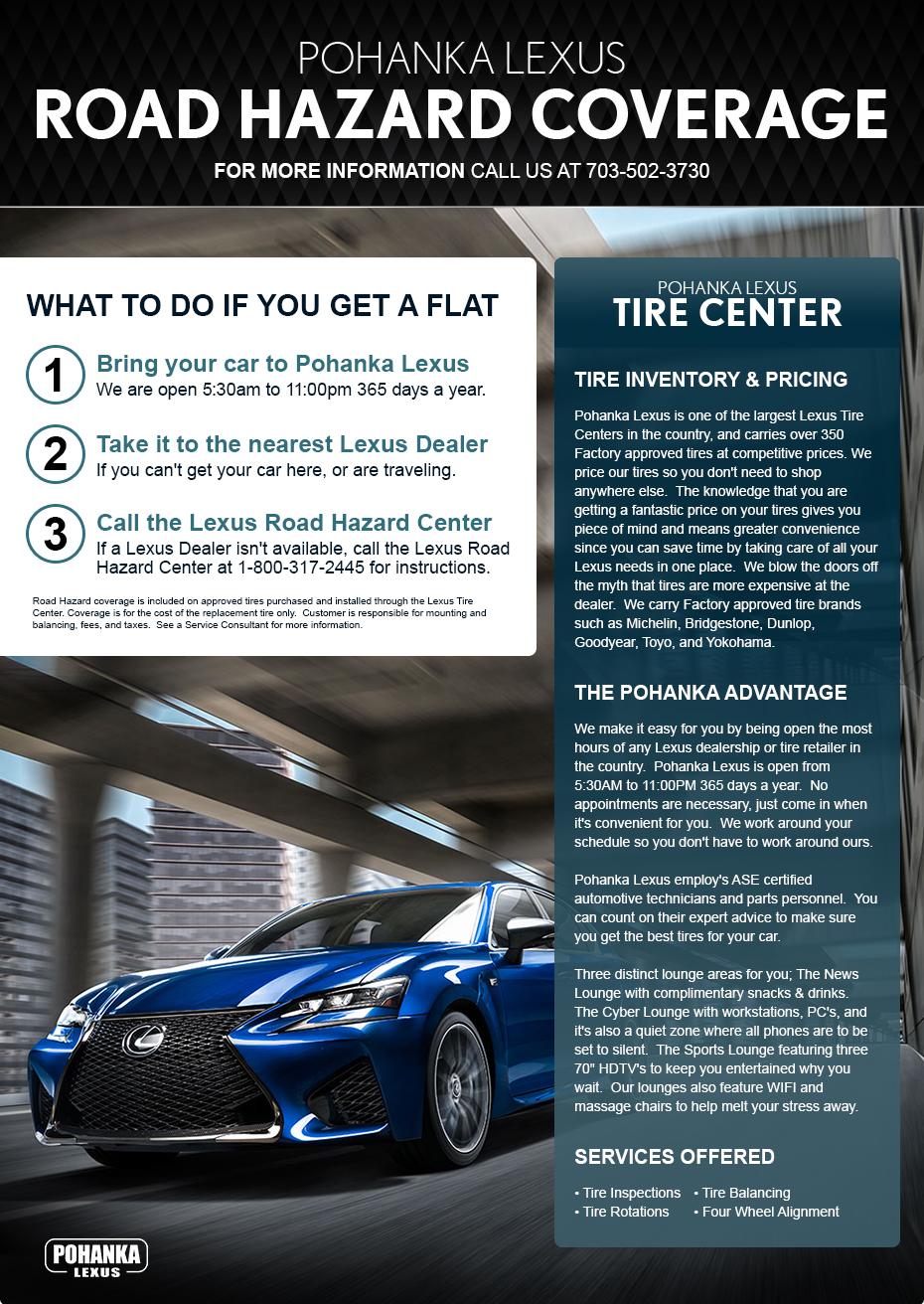 Tire Center Pohanka Lexus