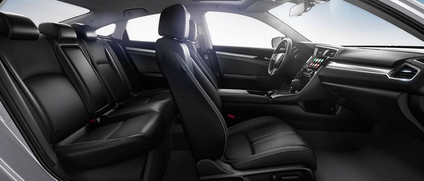 The Civic's Spacious Cabin