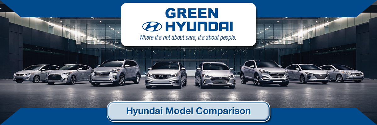 Hyundai Car Brand Comparisons For Springfield Il Green Hyundai