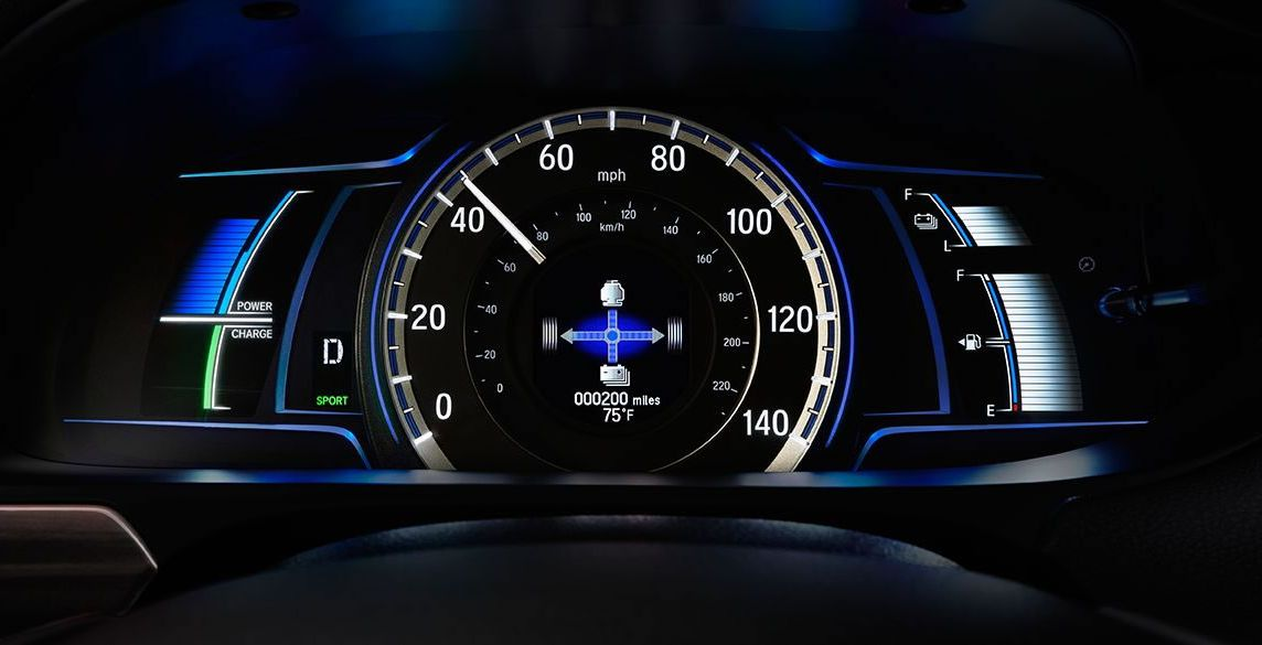 The Accord Hybrid's Innovative Instrument Cluster