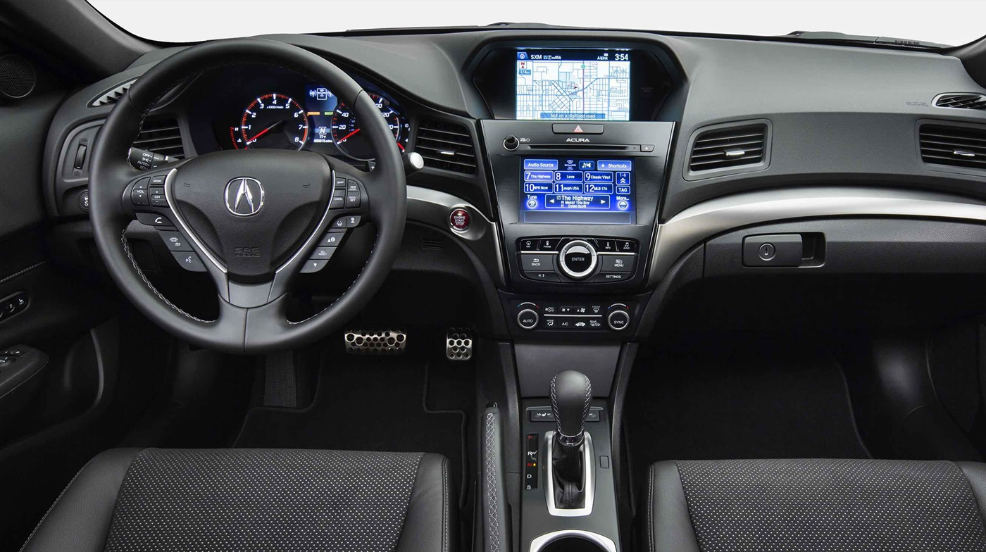 The Driver-Centric Center Stack of the 2017 ILX!