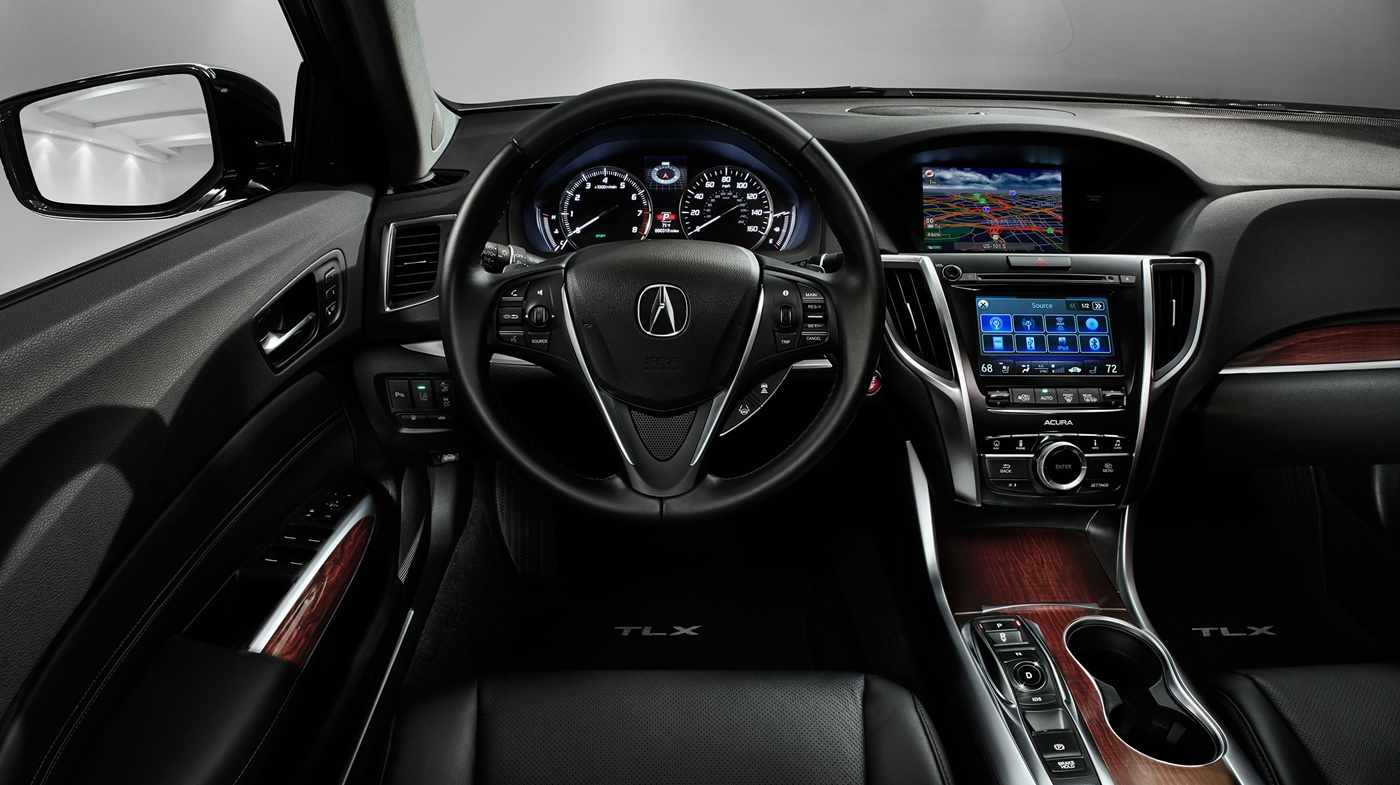 The Interior of the 2017 TLX