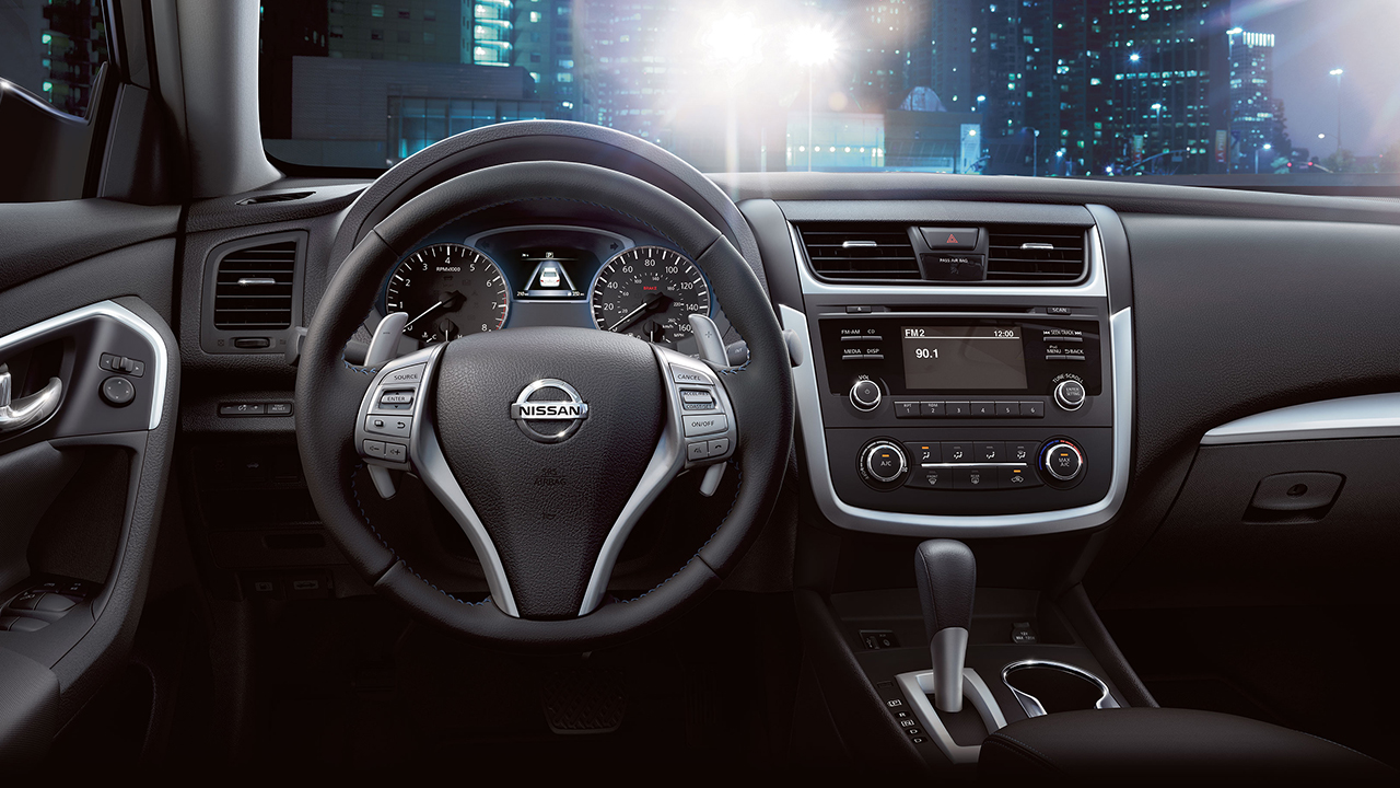 2017 Altima Dashboard