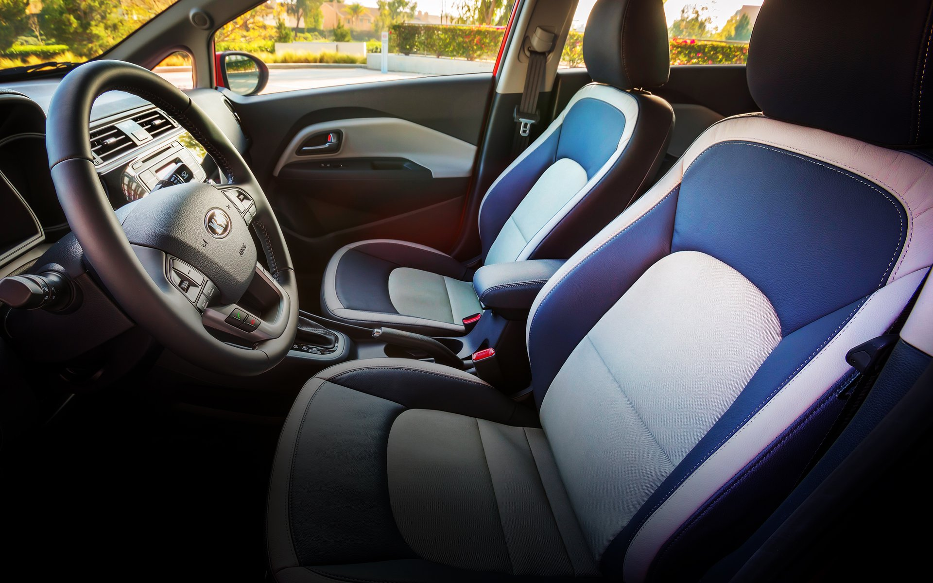 2017 Kia Rio EX Interior with Designer Package