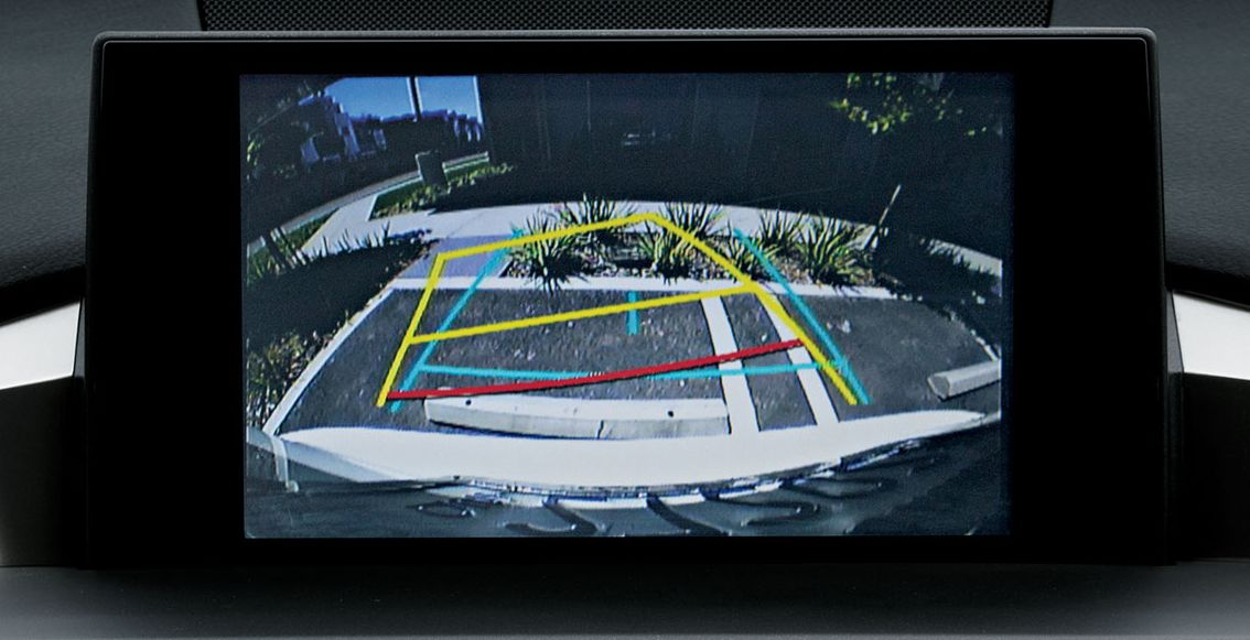 2017 NX 200t Backup Camera with Dynamic Gridlines