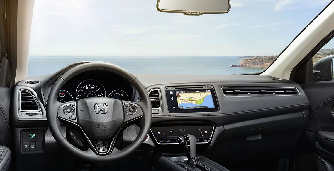 Cockpit of the Honda HR-V
