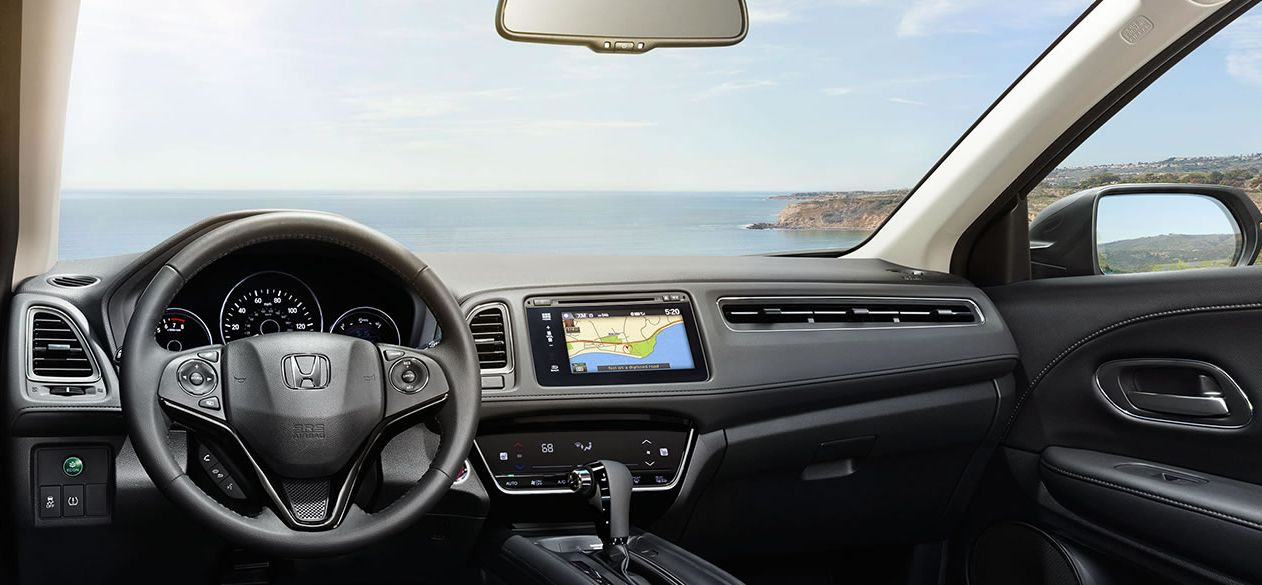 Cabin of the Honda HR-V