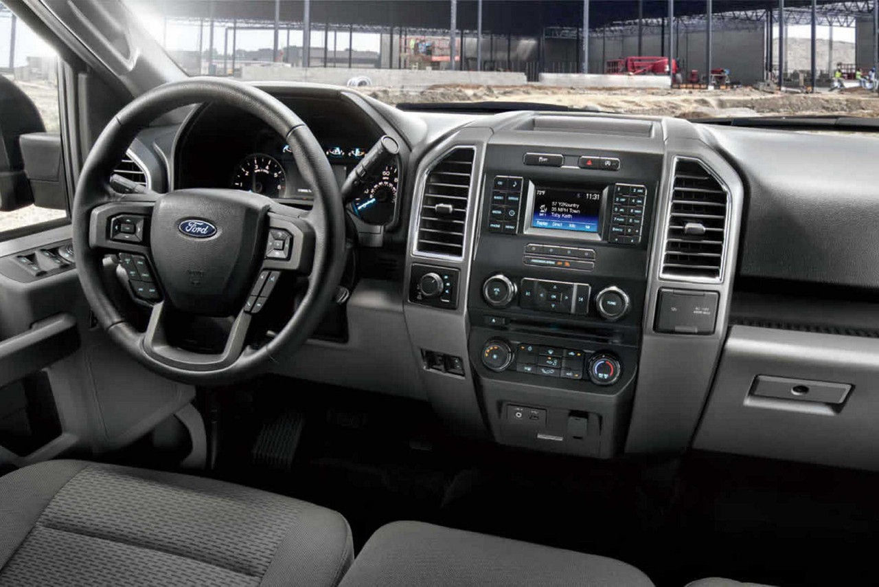 The Interior of the 2017 F-150