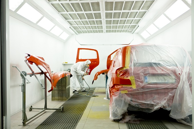 Our Collision Center Offers Paint Matching