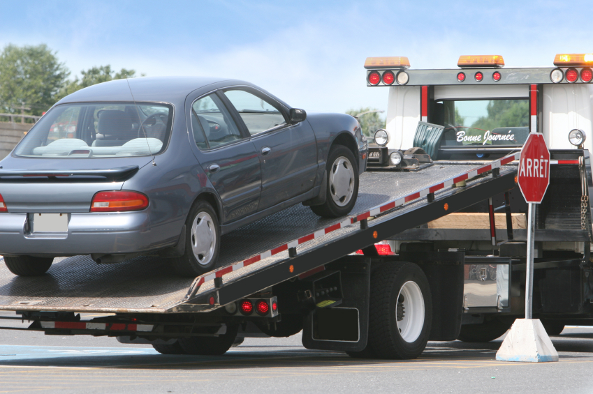 We Offer Towing Services