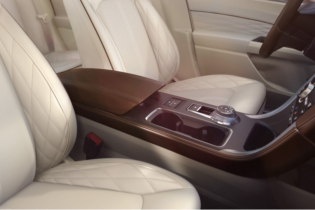 The Luxurious Interior of the 2017 Fusion