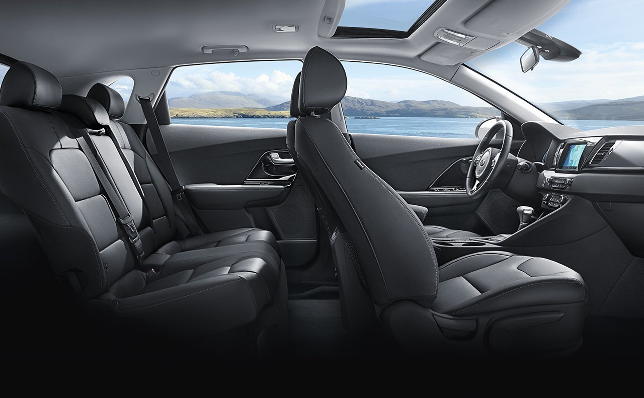 2017 Kia Niro Touring Interior with Advanced Technology Package
