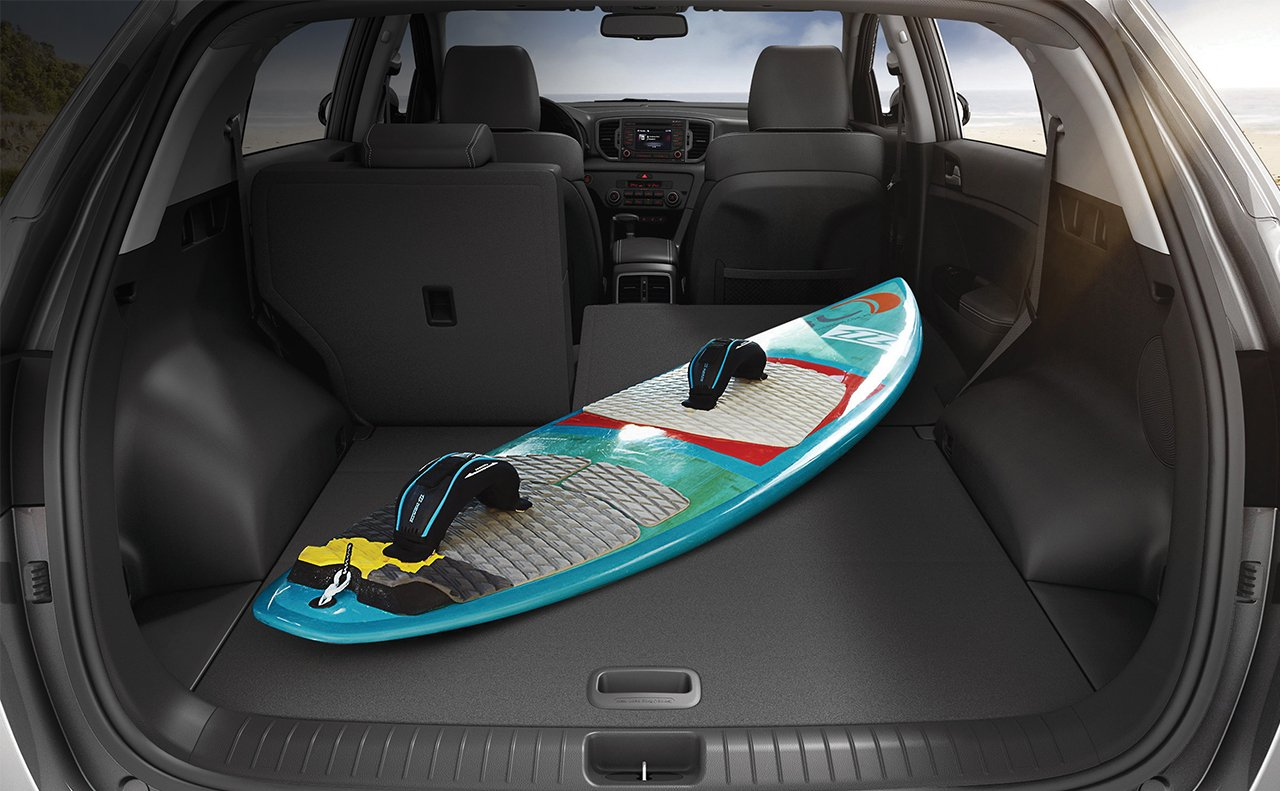 Flexible Cargo Space in the 2017 Sportage