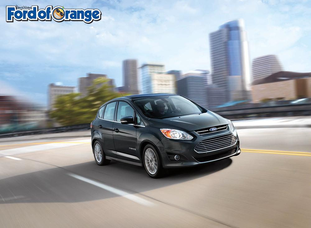 2-17 Ford C-MAX Hybrid Orange County Huntington Beach Villa