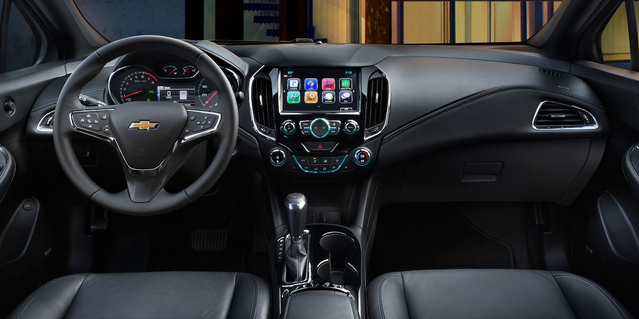 2017 Chevy Cruze Interior with Optional Features