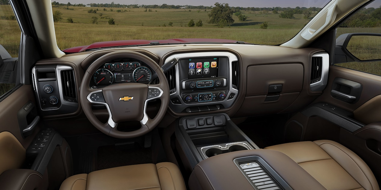 2017 Chevy Silverado 1500 Interior with Optional Features