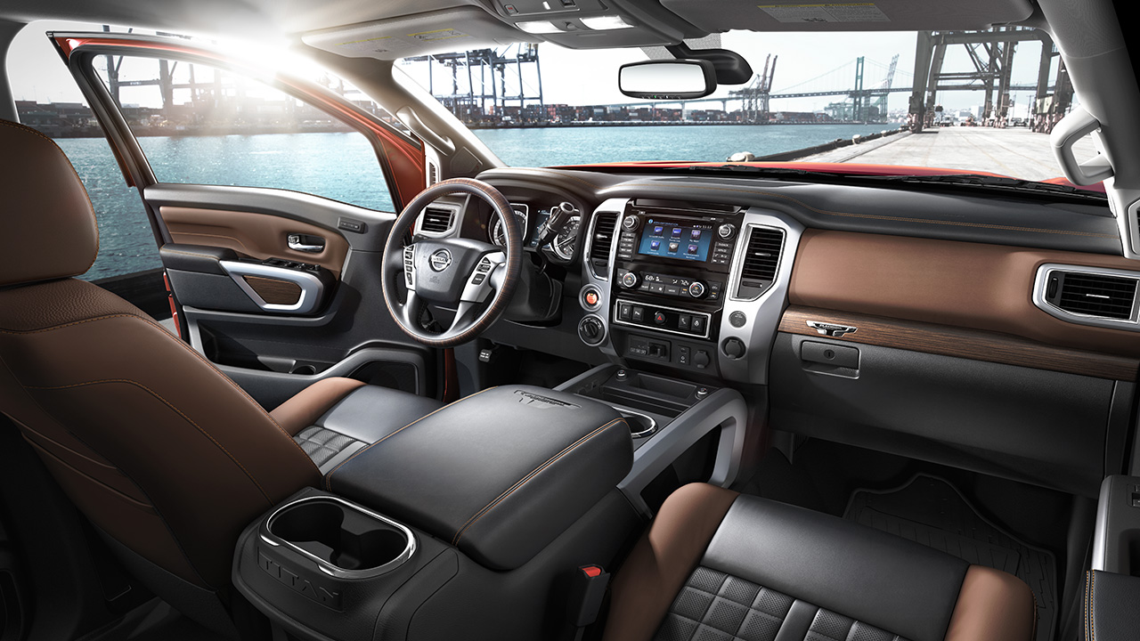 Refined Cabin of the Nissan Titan